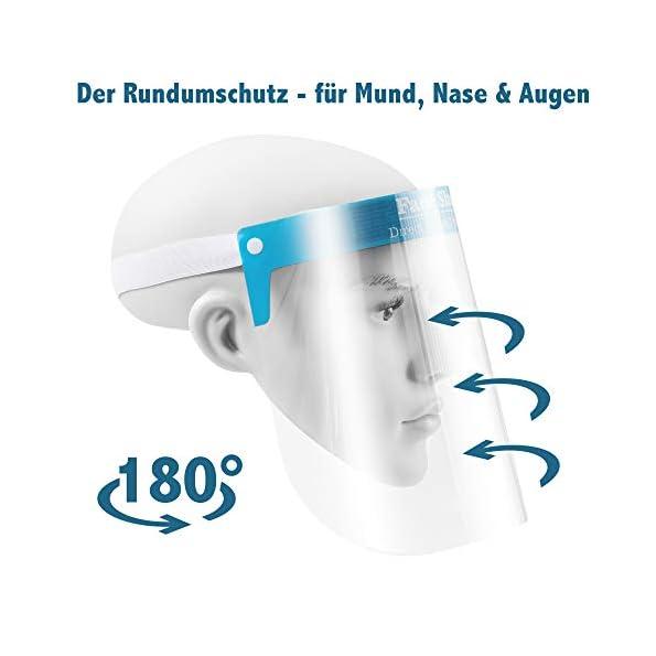 5er-Pack-Premium-Care-Gesichtsschutz-Visier-Maske-Face-Shield