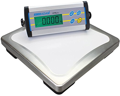 Adam Equipment CPWplus 15 Bench Scale, 33lb/15kg Capacity, 0.01lb/5g Readability from Adam Equipment