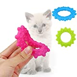 OutTop Pet Dog Durable Chew Toys Lovely Pet Dog Puppy Cat Chews Roast Rings Toy Squeaky Sound Play Toys (8.58.51cm, Random)