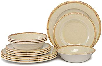 Yinshine Melamine 4-12pcs Melamine Dinnerware Set