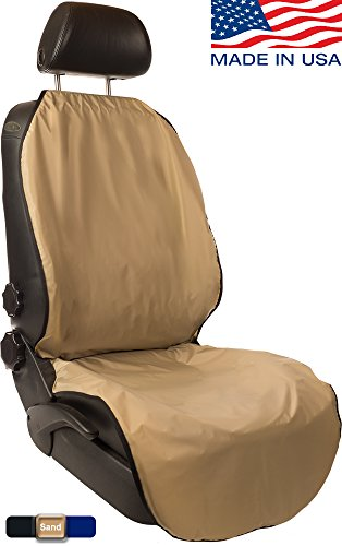CleanRide&Trade;: Bacteria-Resistant, 100% Waterproof Car Seat Cover and Protector: Triathlon Beach Yoga Running Crossfit Sweat Workout (Odor-Resistant and Super-Compact)