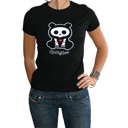 mujer Panda Le Skelanimals m Camiseta Chungkee wTaHqIgqx