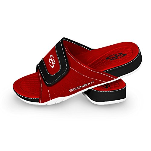 Black Mens Options 32 Slide Tyrant Multiple Color Sandals Red Sizes Boombah 1xq4vYdwv