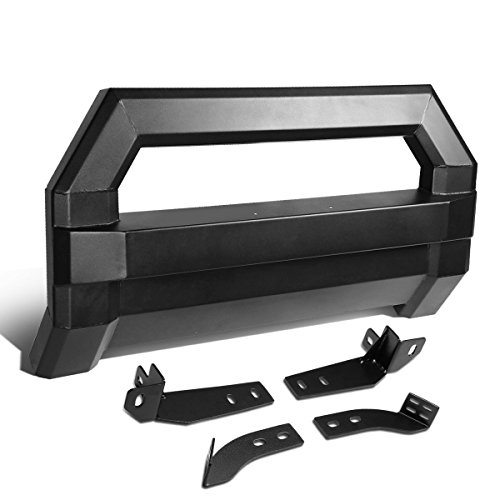 DNA Motoring MFG-001+KIT-006 Bull Bar Grill Guard+License Bracket[06-18 Toyota Tacoma]