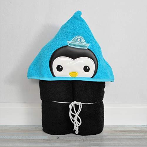 Underwater Rescue Penguin Hooded Bath Towel - Baby, Child, Tween -