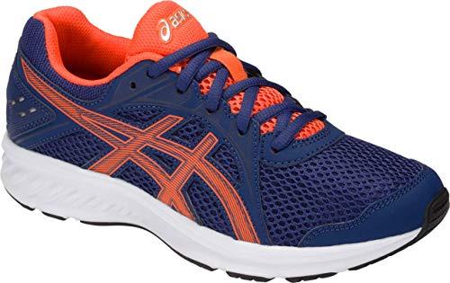 ASICS Jolt 2 GS Kid's Running Shoe, Indigo Blue/Nova Orange, 7 M US Big Kid
