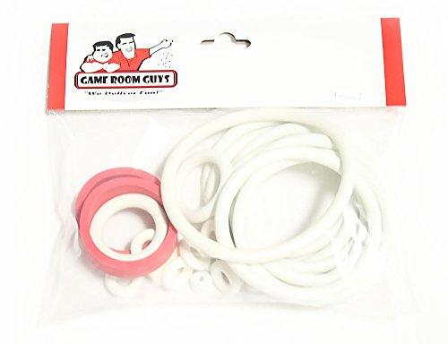 (Game Room Guys Williams Grand Prix Pinball White Rubber Ring Kit)
