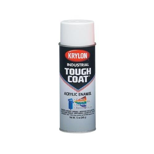 Krylon A01540 Powder Blue Acrylic Enamel Tough Coat, 12-Oz., Light Blue, Pack of 12