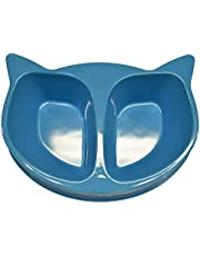 SCREAM Cat Face Bowl, Loud Blue