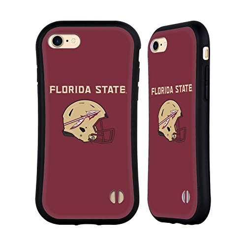 Official Florida State University FSU Helmet Logotype Hybrid Case for iPhone 7 / iPhone ()