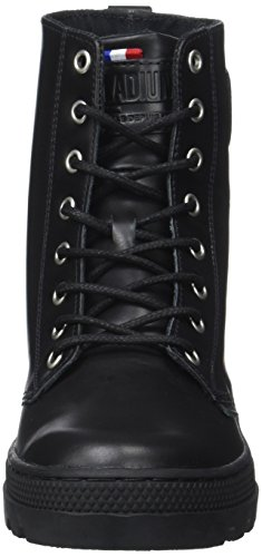 Palladium W Hi Trainers Women's Plboss Top Lea Black rgBxqrO7