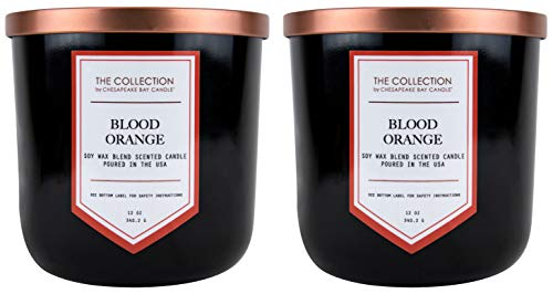 Chesapeake Bay Candle The Collection Two-Wick Scented Candle, Blood Orange, 2 Count