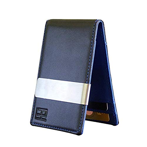 FH-Minimalist-Slim-Leather-Wallet-Money-Clip-Holds-8-Cards