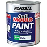 Baufix Mould Protection Paint White Satin Matt 2.5 Litres ...