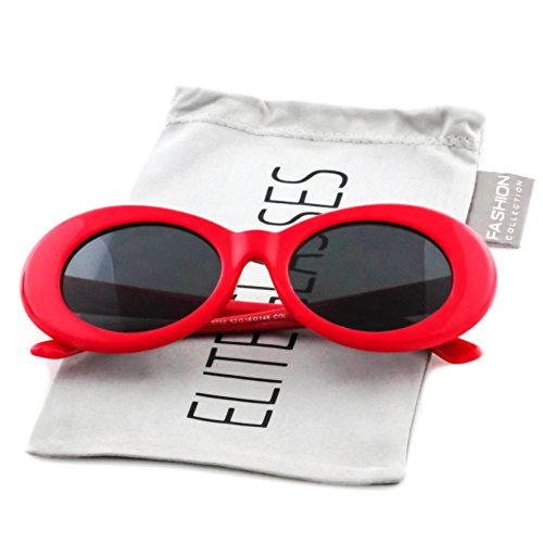 15b9511f04d7 Clout Goggles Oval Mod Retro Thick Frame Rapper Hypebeast Eyewear Supreme  Glasses Cool Sunglasses - Buy Online in Oman.