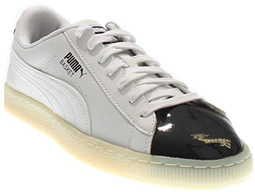 (PUMA Mens Basket Patent Athletic & Sneakers)