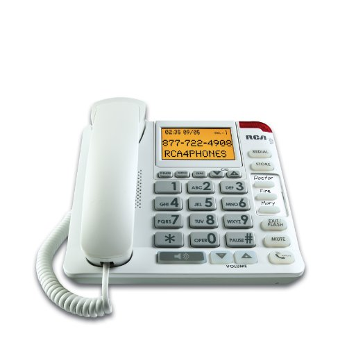 RCA 1124 1WTGA 1 Handset Landline Telephone