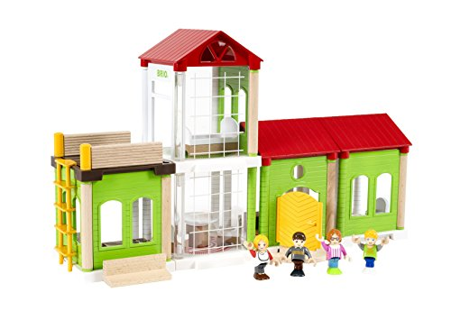 Brio Builder System - BRIO World - 33941 Family House | 46 Piece Play House for Kids Ages 3 and Up