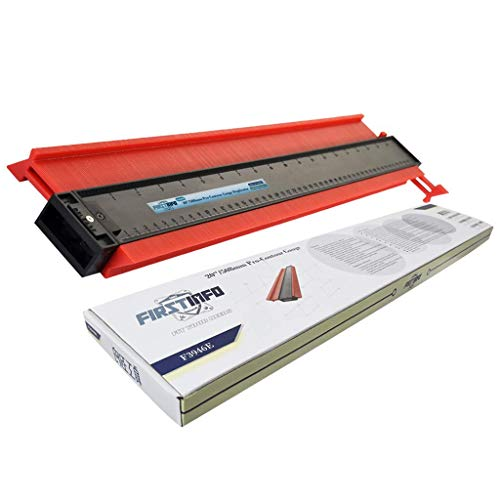 FIRSTINFO Profile Contour Gauge Duplicator 20 Inch with Magnet for Auto Body Repair including Protective Storage Color Box ()
