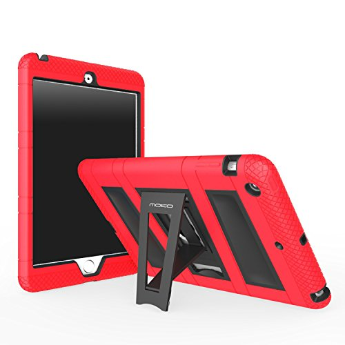 MoKo iPad Mini 3 / 2 / 1 Case, Silicone + Black Hard Polycar