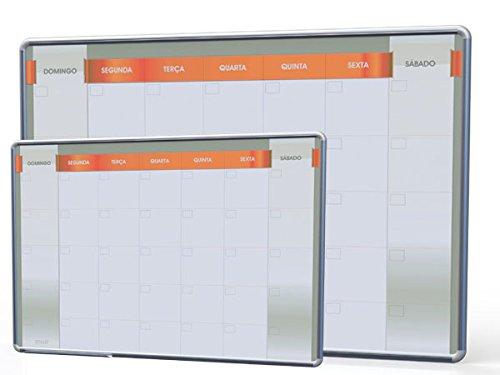 Lousa Quadro Grande De Planejamento Mensal P/ Escritório, Empresa, Escolar 100x70cm