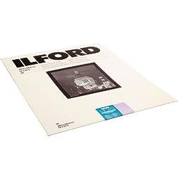 Ilford MGFBCT1K Multigrade FB Cooltone Fiber Based Variable Contrast, Doubleweight Black & White Enlarging Paper 11x14\