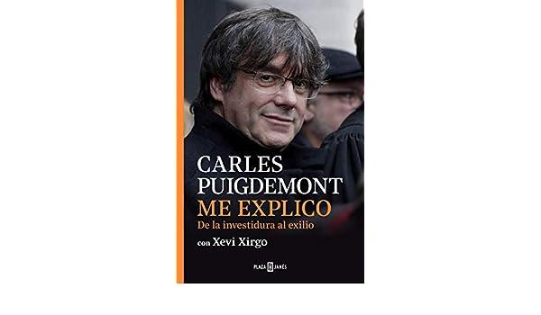 El libro de Puigdemont