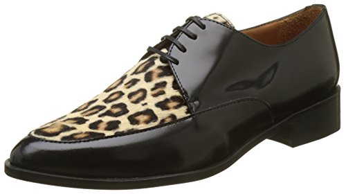 Calvin Cordoban Multicolore Black Pony Femme Emma Multicolore Derbys Cheetah Go S7xwaaqH