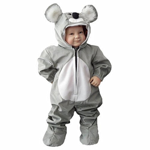 Fantasy World Koala Bear Halloween Costume f. Toddlers/Boys/Girls, Size: 3t, J42 (Good Last Minute Halloween Costumes For Adults)