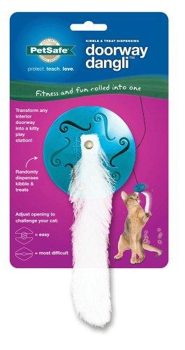 (PetSafe  Doorway Dangli Food Dispensing Cat Toy)