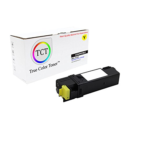 Series Printer Color 2500 (TCT Premium Compatible 331-0718 Yellow Laser Toner Cartridge for the Dell 2150 series - 2,500 yield- works with the Dell 2150, 2150CDN, 2150CN, 2155, 2155CDN, 2155CN printers)