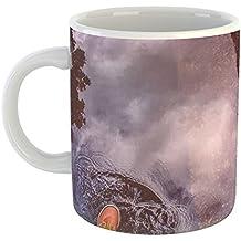 Westlake -Coffee Cup Mug - - Modern Picture Photography Artwork Home Office Birthday Gift - 11oz (69m b32)