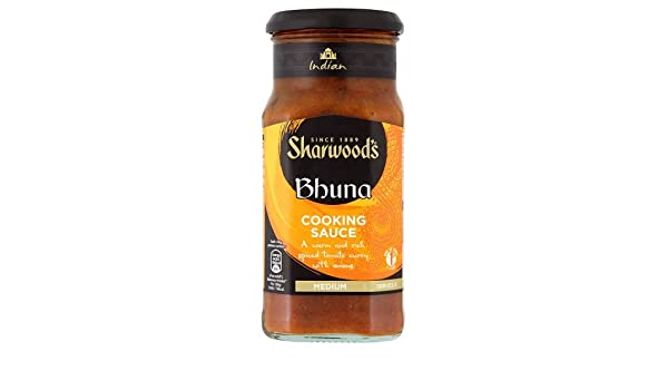 Amazon.com : Sharwoods Bhuna Sauce 420g : Curry Sauces : Grocery & Gourmet Food