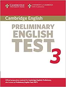 cambridge university complete pet student s book Complete pet preliminary english test for schools paper 1 reading and   writing • part 2 question 6 you have just been to the town centre to spend some  birthday money on a book  (students hand over the mark sheets to the  assessor)  cambridge university press would also like to thank martin.