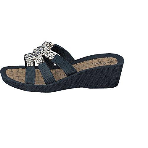 Linea Scarpa ALCORA Zapatillas baño Zapatillas y Zapatos informales Mujer azul marino