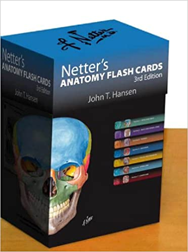 Buy Netters Anatomy Flash Cards With Online Student Consult Access 3e Netter Basic Science Book At Low Prices In India