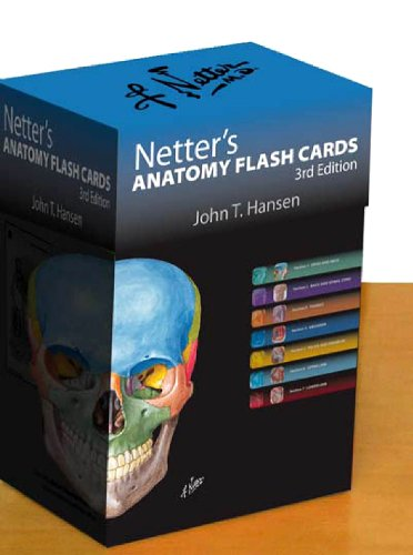 Netter's Anatomy Flash Cards: with Online Student