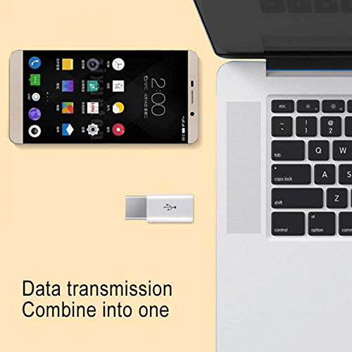 XZANTE Adaptador USB Hembra A Type C Macho para Letv Xiaomi Mi 5X Oneplus Samsung S9 S8 Plus Negro