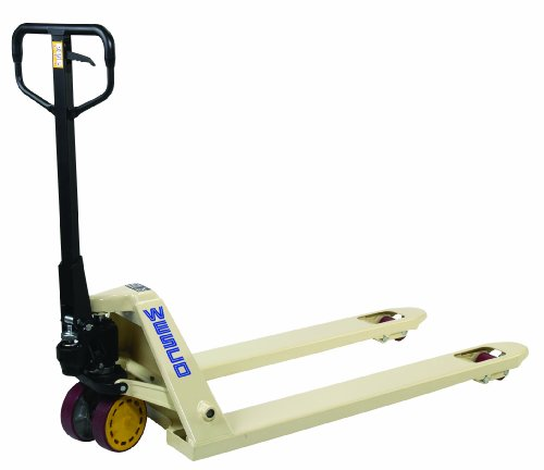 Tracked Pallet Jack: Wesco 272655 CPI Series Pallet Truck With Handle
