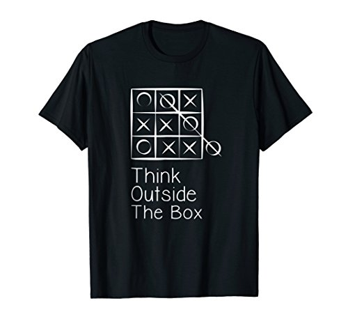 Think Outside the Box Nerd Nerdy Geek Computer Science Shirt
