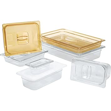Buy Rubbermaid Commercial Hot Food Pan Cover With Notch 1 2