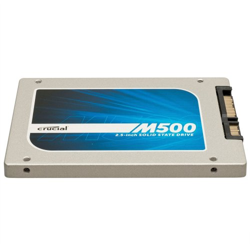 [OLD MODEL] Crucial M500 480GB SATA 2.5-Inch 7mm (with 9.5mm adapter) Internal Solid State Drive CT480M500SSD1