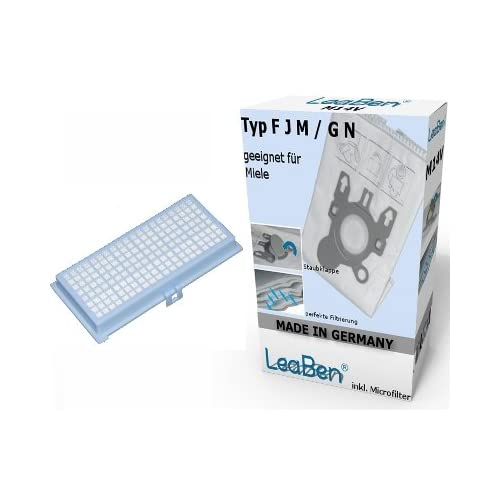 10 Sacs d'aspirateur pour Miele S410 S 410 S411 S 411 + Filtre HEPA #s3_Taille