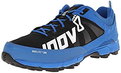 Inov-8 Men's Roclite 295 Trail Running Shoe,Blue/Black/White,8.5 US