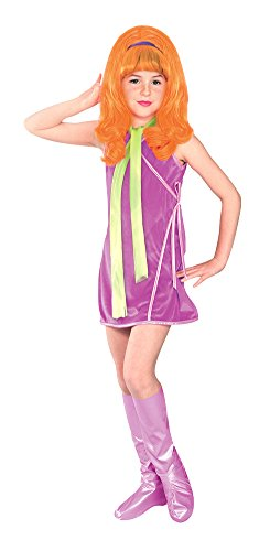 SALES4YA Kids-Costume Daphne Child Medium Halloween Costume - Child Medium ()