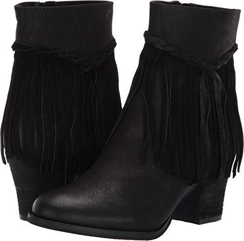 (Sbicca Women's Patricia Fringe Boot (8.5 M, Black))