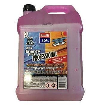 krafft ANTICONGELANTE REFRIGERANTE 50% Energy Plus Long Life G12 Color Violeta: Amazon.es: Coche y moto