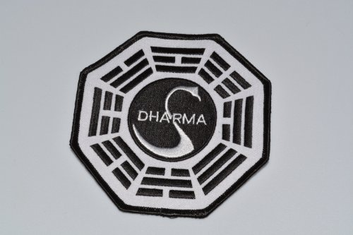 LOST Dharma Research station SWAN logo PATCH - TV ()