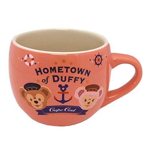 TDR Duffy's home town (souvenir cup) pink mug cup cup Sherry Mae Duffy and his friends tableware Disney Sea Limited