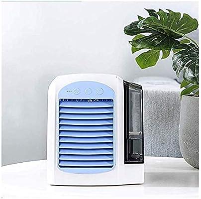 XB-DFSTS Ventilador portátil con aire acondicionado, refrigerador personal for aire, humidificador, purificador 3 en ...